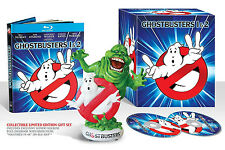 NEW Ghostbusters/Ghostbusters II Limited Edition Gift Set Slymer [Blu-ray]