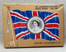 McDonald's Export A Tobacco Cigarette Flat 50 Tin Pictures Queen Elizabeth 1959