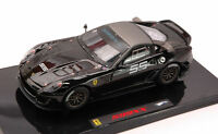 Ferrari 599XX Racing #55 Black Elite 1:43 Model T6264 HOT WHEELS