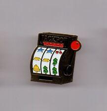 Pin's casino / Machine à sous - Jackpot (doré)