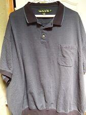 Men's 4x / 20 Golf / Polo shirt Pull over Dark Blue/Black RGS21