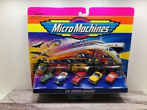 Micro Machines # 5 Euro Sport Set ...New In Package!