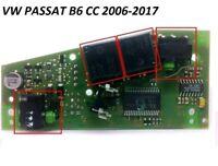 REPAIR KIT VW PASSAT B6 CC STEERING LOCK MODULE RELAYS+MICRO SWITCHES 3C0905864