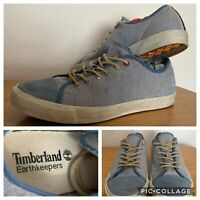 Men's Timberland Size 7 Earthkeepers Glastenbury Canvas Denim Sneaker