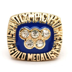 1980 Olympic Hockey USA Gold Medal championship rings NHL