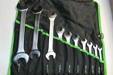 KUKKO TOOLS METRIC OPEN ENDED WRENCH SET 10pcs GERMANY