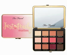 Too Faced JUST PEACHY MATTES Velvet Matte Eye Shadow Palette NEW IN BOX