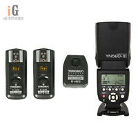 YongNuo YN560III Flash Light + RF-602 2.4GHz Wireless Remote Triggers for Nikon