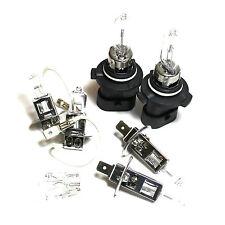 H1 HB3XS H3 501 100w Clear Xenon HID High/Low/Fog/Side Light Bulbs Set/Kit