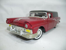 m17 1957 FORD RANCHERO COURIR SEDAN DELIVERY RED 1:18 ROADLEGENDS VERY RARE
