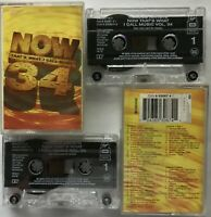 Now That's What I Call Music 34 1996 Double Cassette Tape Album