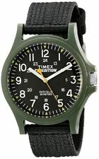 "Timex TW4999800, Men's ""Expedition Camper"" Black Nylon Watch, Date, Indiglo"