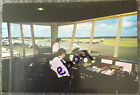 Southend Airport Large Rare Postcard Showing The Control Tower & Prop Aircraft .