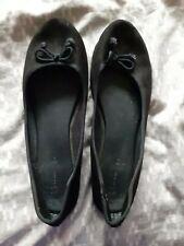 Womens Black Ballet Shoes Size 8