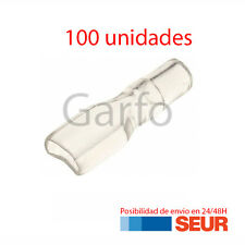 100X Funda Transparente para FASTON 6.3 mm - 6,3 mm