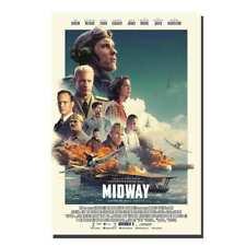 Midway 2019 Movie Poster 24x36 Patrick Wilson v2 - Luke Evans Ed Skrein