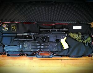 """We Gbb M4-Sol Airsoft Rifle """"Ace Warlord"""""""