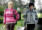 King Cole 4288 Knitting Pattern Jacket & Sweater in Big Value Super Chunky Tints