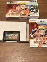 Naruto RPG: Uketsugareshi Hi no Ishi Nintendo Game Boy Advance from JP GAME USED