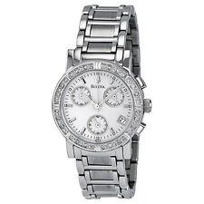 Bulova Women's 96R19 Mother-Of-Pearl Stainless-Steel Quartz Watch