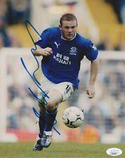 Everton Wayne Rooney Autographed Signed 8x10 EPL Photo JSA COA #4