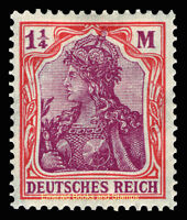 EBS Germany 1920 Germania 1¼ Mark Michel 151 MNH**