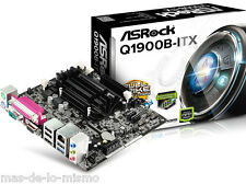 PB mini-ITX Asrock Q1900B-ITX Intel Quad Core 2GHz DDR3 VGA HDMI USB 3.0 GigaBit