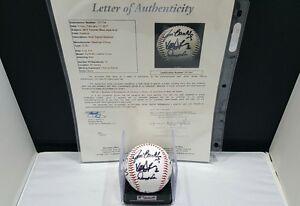 Toronto Blue 2011 Team 10 Autographed Signed ROMLB Auth by JSA LOA Z41264