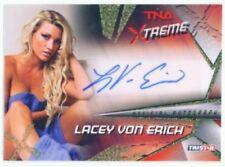 """LACEY VON ERICH """"AUTOGRAPH CARD /99"""" KNOCKOUT TNA XTREME"""
