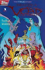 Dracula: Vlad the Impaler nº 1 1993 Ltd. embossed red foil cover Esteban Maroto