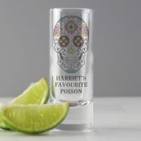 Personalised Day of the Dead Skull Design Gifts, Mug, Glasses, Sweets, Chocolate