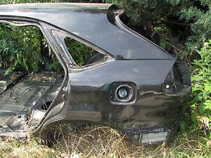 04 LEXUS RX330 REAR LEFT QUARTER PANEL DRIVER BODY CUT BLACK OEM 05 06 07 08 09