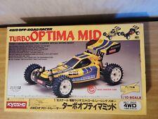 Kyosho Turbo Optima Mid scatola originale anni 80 (solo scatola)