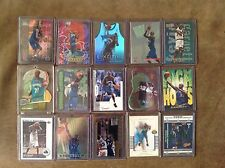 "HUGE Kevin Garnett lot 28 different insert cards ""Rare"" many serial #'d $$$"