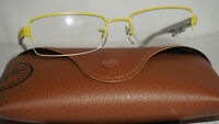 RAY BAN Frame RX Eyeglasses New Yellow Grey RB6264 2798 51 18 135