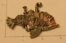 New ListingSteampunk Submarine Sub Life Dolphin Fish Navy Non Cpo Chief Challenge Coin