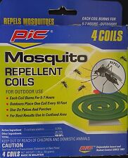 MOSQUITO REPELLENT COILS 5-7 Hours for Outdoor Use 4 Coils/Pk