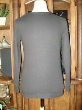 NEW Men's U.S. Polo Assn. Black Waffle Knit Casual Long Sleeve Shirt Size M