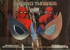 2017 SPIDER - MAN HOMECOMING Webbed Threads Memorabilia DUAL Card WTD10