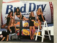 Bud Dry - Sexy Girlie Beer poster - with Pam Anderson