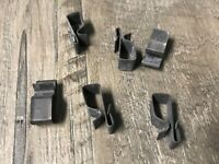 Ski-Doo Bombardier wiring harness frame clips clamp 6pcs
