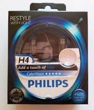 Philips ColorVision Azul H4 12v 60/55w DE COLORES CUERO 12342cvpbs2 (par)