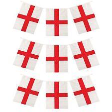 Lot de 100 St George Plastique Melon Chapeaux Drapeau Angleterre Rugby Sport robe fantaisie