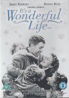 TIENE un Wonderful Life James Stewart 2 Caja de Discos Universal GB DVD Nuevo