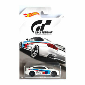 """Hot Wheels FKF26-32 BMW M4 """" Safety Car """" White - Gran Turismo Scale 1:64 New !°"""