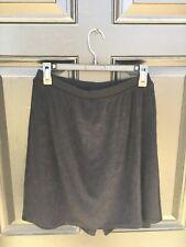 New Versatile! Chico's Travelers Black Skort Skirt Short Sz 2 L Large 12 14 NWT