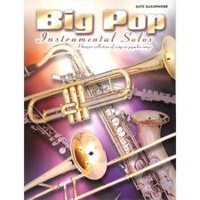 Big Pop Instrumental Solos - Altsaxophon Noten [Musiknoten]