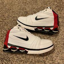 VTG Nike Shox VC IV Vince Carter 4 White Black Varsity Red 2005 Sneakers Size 10