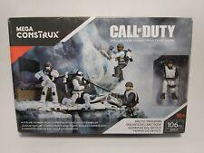 Call of Duty Arctic Troopers Mega Blocks Construx action figure set 106 pcs 2016