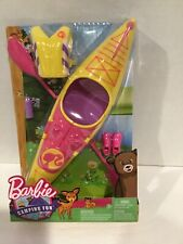 Barbie Camping Fun Kayak with Accessories New